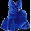 THE ATTICO Embellished velvet mini dress - Dresses -