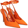 THE ATTICO SANDALS IN ORANGE TECH/SYNTH - Scarpe classiche -