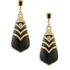 THE BOHEMIAN Black berry drop earrings - Uhani - $95.00  ~ 81.59€