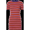 THE ELDER STATESMAN Striped rib knit - Dresses -