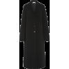 THE ROW black mohair wool long coat - Jacken und Mäntel -
