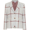 THOM BROWNE Checked wool blazer - Jakne in plašči -