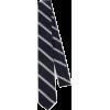 THOM BROWNE navy stripe tie - Tie -