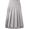 THOM BROWNE pleated midi skirt - スカート -