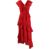 THREE FLOOR Rouge tiered midi dress - Haljine -