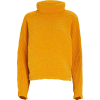 TIBI Recycled Velour Turtleneck Sweater - Pullovers -