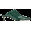 TIBI crocodile embossed mules - Classic shoes & Pumps - $519.00