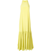 TIBI halterneck maxi dress - Obleke -