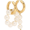 TIMELESS PEARLY Pearl-embellished mismat - Earrings -
