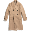 TODD SNYDER camel coat - Jacket - coats -