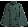 TOGA High-neck technical cape jacket - Jacket - coats -