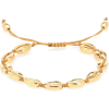 TOHUM DESIGN Puka Shell 22kt gold-plated - Zapestnice -