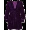 TOM FORD Twist-front velvet mini dress - Vestiti -