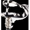 TOM FORD Zebra Animal-Print Velvet - Sandals -