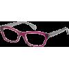 TOMMY HILFIGER Eyeglasses 1167 0V8R Plum / Transparent Gray 53mm - Eyeglasses - $107.20