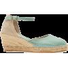 TONI PONS 'Caldes' Linen Wedge Sandal, A - Wedges -
