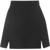 TOPSHOP A-Line Notch Hem Skirt - Skirts - $60.00