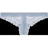 TOPSHOP Pale Blue Lace Thong - Biancheria intima -
