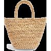 TOPSHOP RHODES Mini Straw Weave Tote Bag - Kleine Taschen -