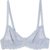 TOPSHOP Recycled Pale Blue Lace Bra - Biancheria intima -