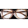 TORTOISESHELL EFFECT GLASSES - Uncategorized -