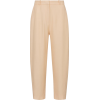 TOTEME Twisted-seam twill pants - Capri & Cropped -