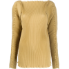 TOTÊME pleated long-sleeve top - Long sleeves shirts -