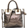 TRANSPARENT 2-IN-1 SATCHEL TOTE - Hand bag - $62.00