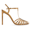 T-Strap Metallic Stiletto Pump FRANCESCO - Sandale -