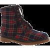 Tartan - Boots -