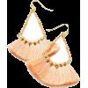 Tassel Drop Earrings - Earrings - $18.00