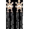 Tassel Linear Earrings - Earrings -