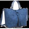 Tassel Ring Decorated Shoulder Bag - Hand bag - $12.00