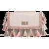 Tassels Color Block Crossbody Bag - Hand bag - $22.49