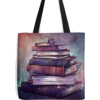 TaylorRoseArt book tote - Travel bags -