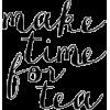 Tea Text - Texts -