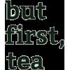 Tea Text - イラスト用文字 -