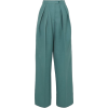 Teal Pants - Capri & Cropped -