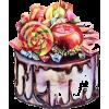Cake - Ilustracije -