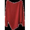 Textured Knit Pullover La Garçonne - Pullovers -
