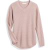 Textured Pullover - Pullovers -