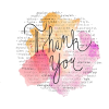 Thank-You Text - 插图用文字 -