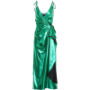 The Attico Metallic wrap dress - Vestiti -