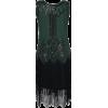 TheDressOutlet flapper dress in green - Dresses -