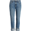 The Fling Cuff Boyfriend Jeans CURRENT/E - Jeans - $295.00