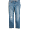 The High-Rise Slim Boyjean in Dover Wash - Jeans - $135.00  ~ 115.95€