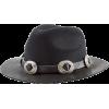 The Kooples Embellished Felt Hat with Le - Cappelli -