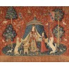 The Lady and the Unicorn tapestry c1500 - Illustrations -