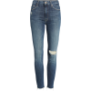 The Looker High Waist Frayed Ankle Skinn - Jeans -