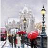 The Macneil Studio Tower Bridge In Snow - Illustrazioni -
